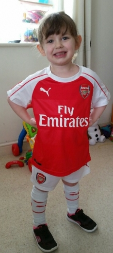 Fidget My Little Arsenal Girl